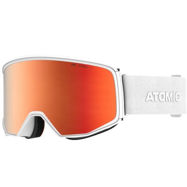 Atomic FOUR Q STEREO White Skibrille