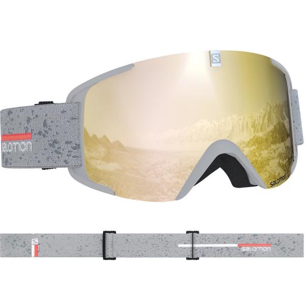 Salomon GOGGLES XVIEW White matt/Solar Bron Skibrille