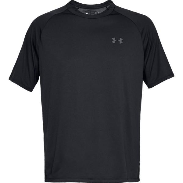 Under Armour NOS UA Tech 2.0 SS Tee-BLK,Black/Gr T-Shirt - Bild 1