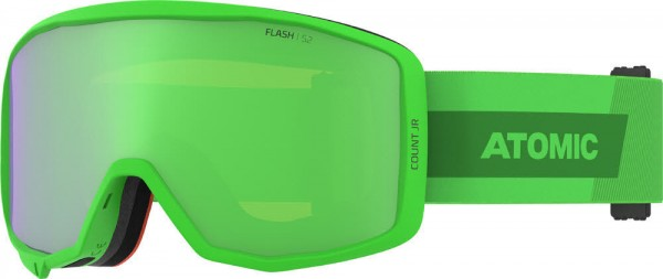 Atomic COUNT JR CYLINDRICAL Lime Skibrille