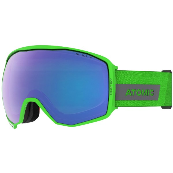 Atomic COUNT 360° HD Green Skibrille