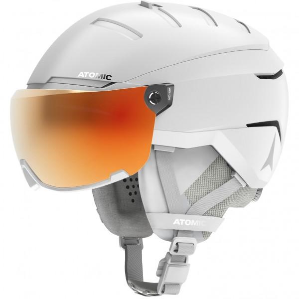Atomic SAVOR GT AMID VISOR HD White Skihelm