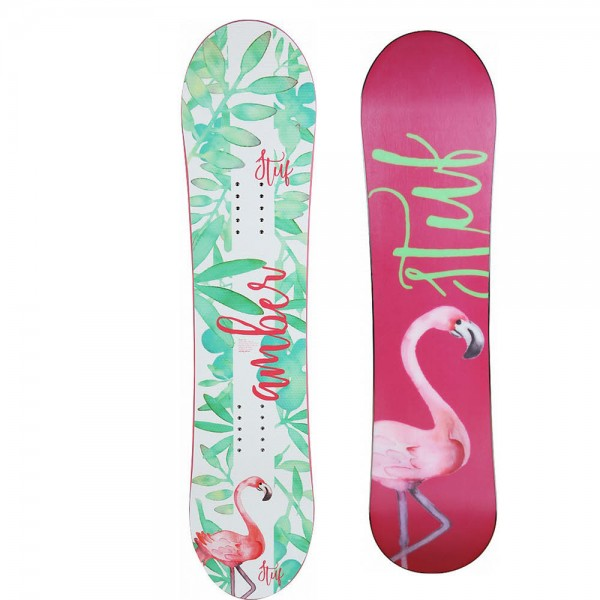 Stuf Amber Jr Girl Snowboard Snowboard