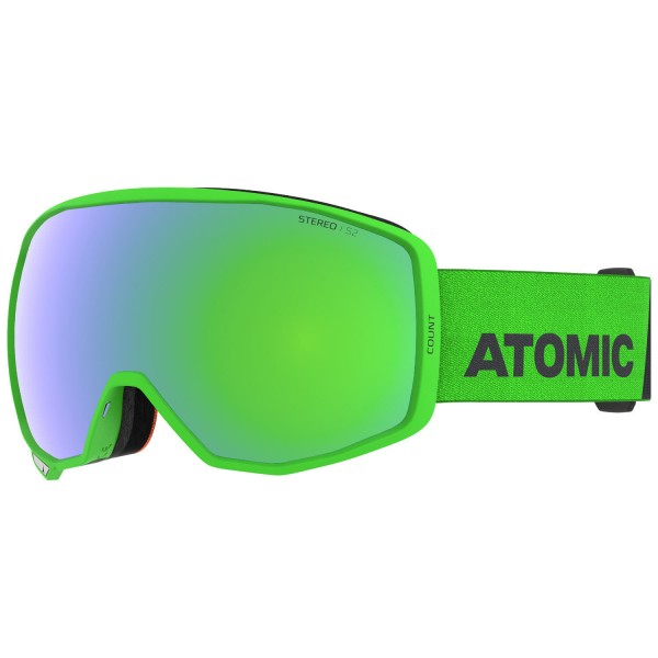 Atomic COUNT STEREO Green Skibrille