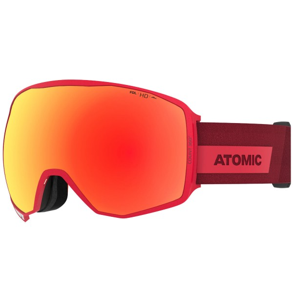 Atomic COUNT 360° HD Red Skibrille