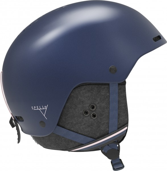 Salomon Helm SPELL+ Wisteria Navy M 5659 Skihelm