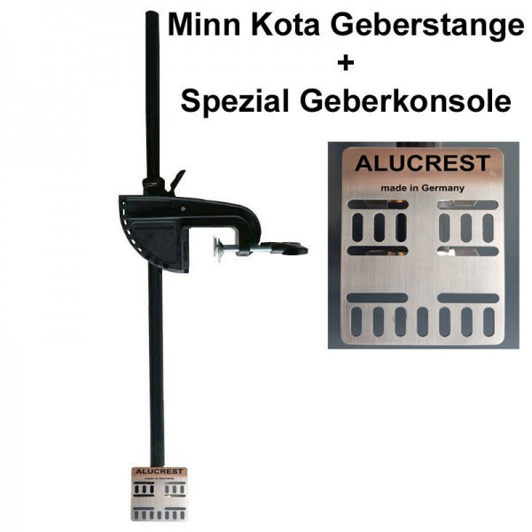 Minn Kota Geberstange 93cm + Alucrest Konsole