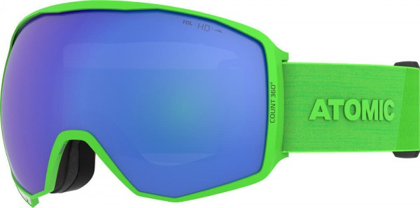 Atomic COUNT 360° HD Lime Skibrille