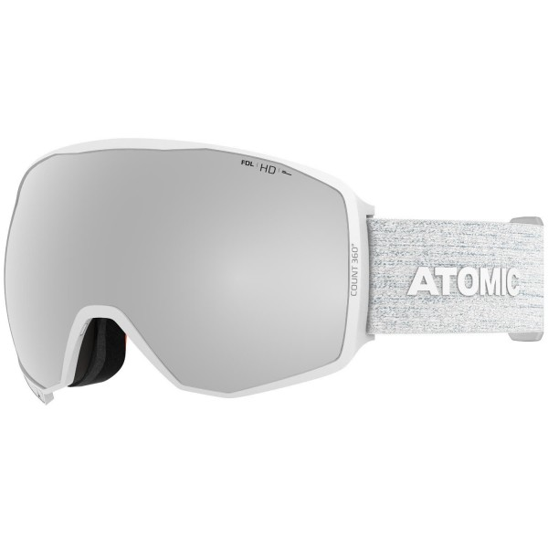 Atomic COUNT 360° HD White Skibrille