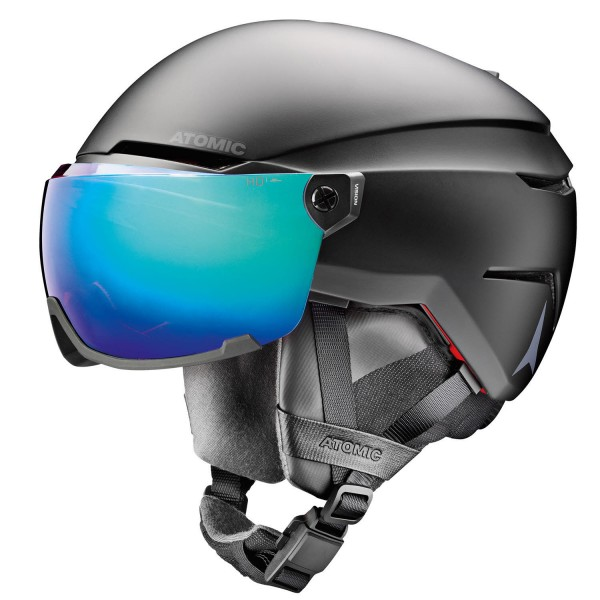 Atomic SAVOR AMID VISOR HD Black Helm