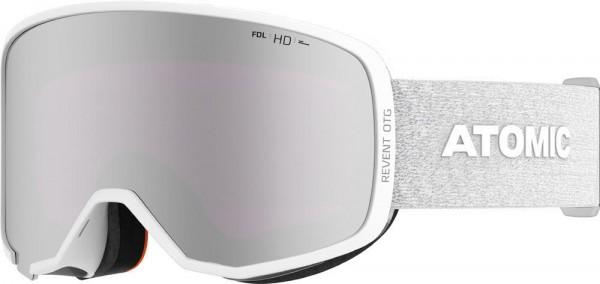Atomic REVENT OTG HD White Skibrille