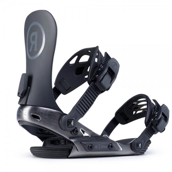 Ride DVA black Snowboardbindung