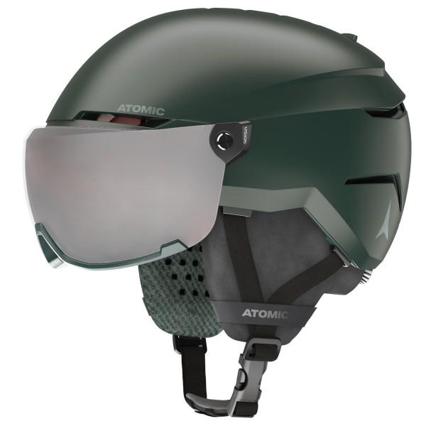 Atomic SAVOR VISOR JR Dark Green Skihelm