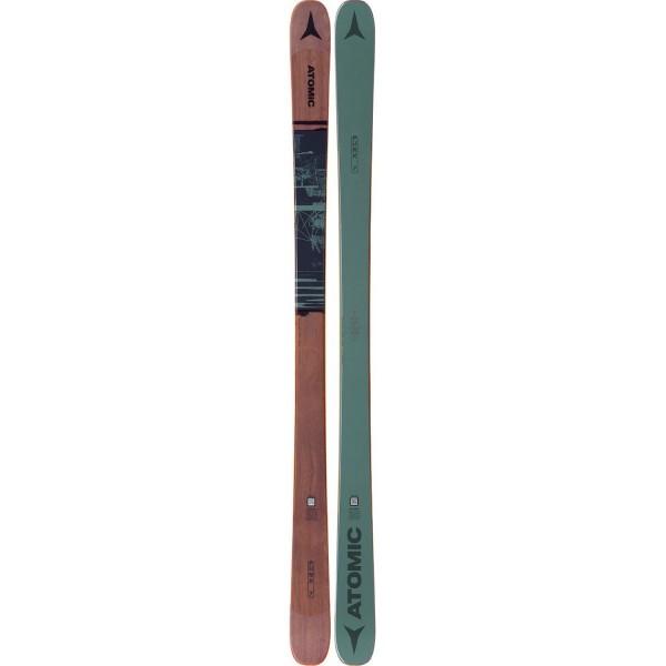 Atomic PUNX SEVEN Green/Brown Ski - Bild 1