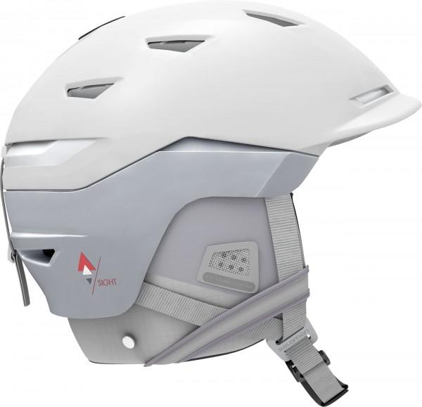 Salomon Helm SIGHT W MIPS White Pop M 5659 Skihelm