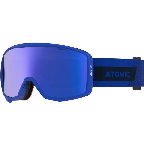 Atomic COUNT JR CYLINDRICAL Blue Skibrille