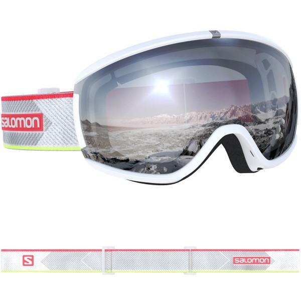 Salomon iVY White/Univ Super White NS Skibrille