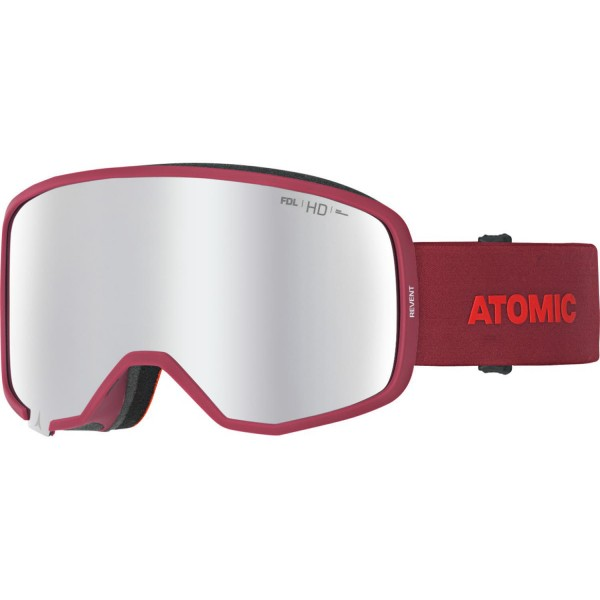 Atomic REVENT HD Red Skibrille