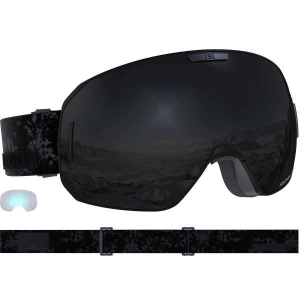 Salomon GOGGLES S/MAX Black/Solar Black Skibrille