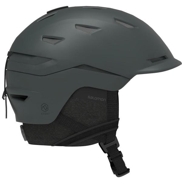 Salomon Helm SIGHT Grey L 5962 Skihelm
