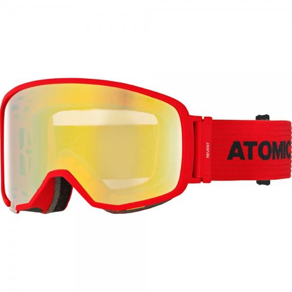 Atomic Revent L FDL STEREO Red/Blue Skibrille