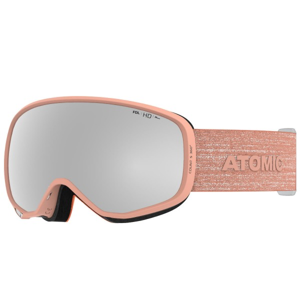 Atomic COUNT S 360° HD Peach Skibrille