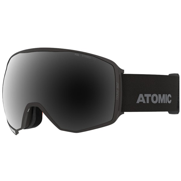 Atomic COUNT 360° STEREO Black Skibrille