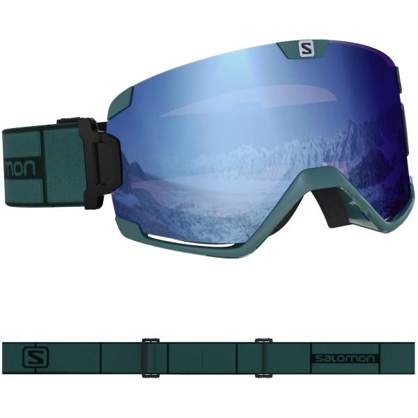 Salomon COSMIC SIGMA Green G/Uni SkyB NS Skibrille