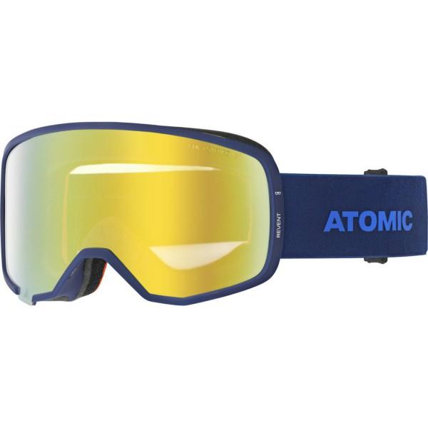 Atomic REVENT STEREO OTG Blue Skibrille