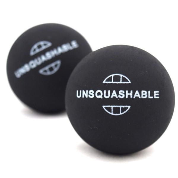 Unsquashable Squash-Ball UNSQUASHABLE blau,,Kein Ball