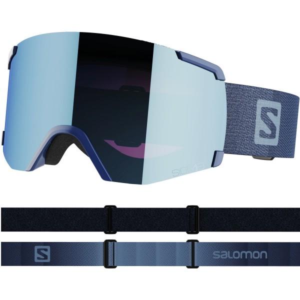 Salomon S/VIEW SIGMA BoldBlue/Uni SkyB NS Skibrille