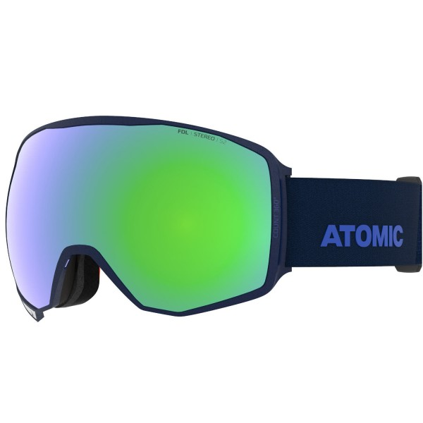 Atomic COUNT 360° STEREO Blue Skibrille