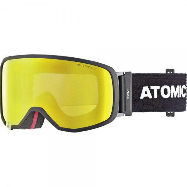 Atomic Revent S FDL STEREO Black Skibrille