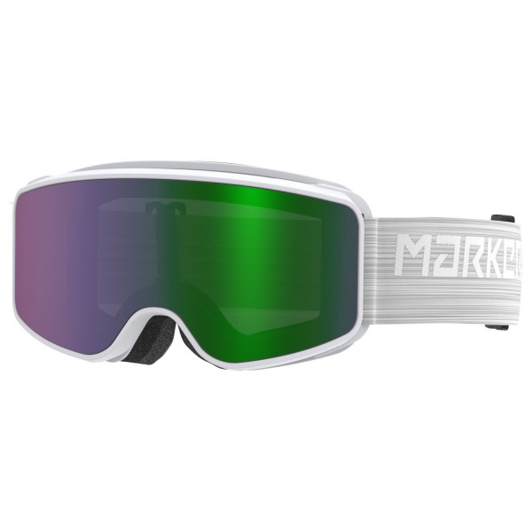 Marker SQUADRON JR SNOWWHITE w/GREEN SCREE Skibrille