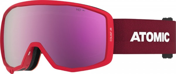 Atomic COUNT JR HD RS Red Skibrille