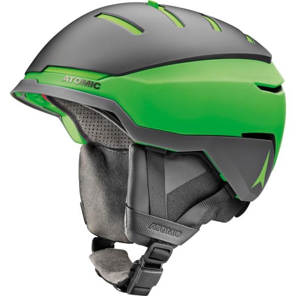 Atomic SAVOR GT AMID Grey/Green Skihelm - Bild 1
