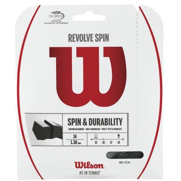 Wilson REVOLVE SPIN 16 SET BK Tennissaite
