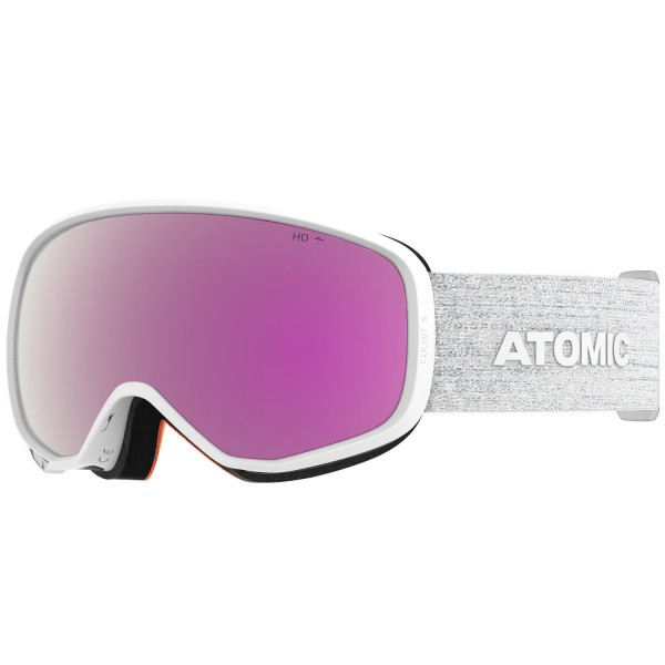 Atomic COUNT S HD White Skibrille
