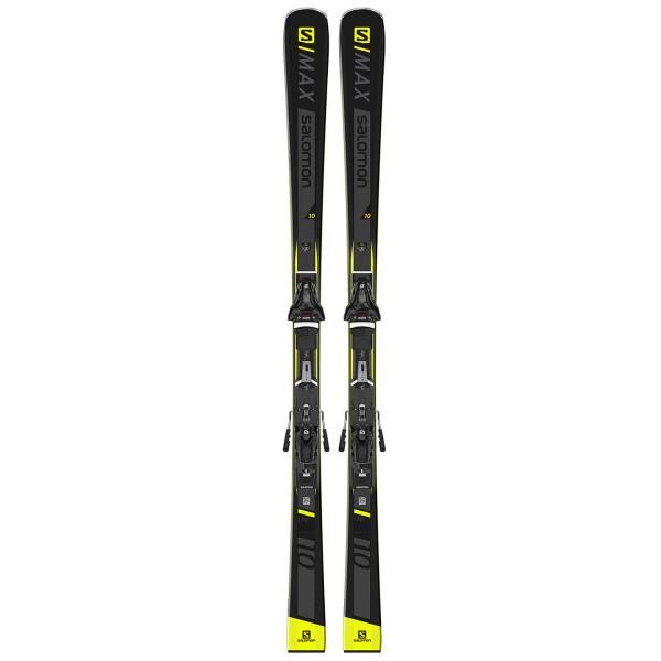 Salomon SKI SET E S/MAX 10 + Z12 GW F80 Bl Ski