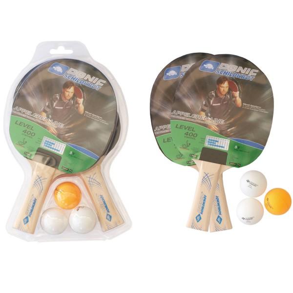 Donic Schildkröt TT-Set SOPO Level 400 im Blist Tischtennisschläger - Bild 1