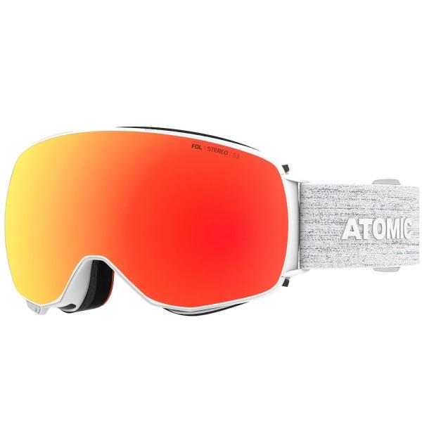 Atomic REVENT Q STEREO White Skibrille