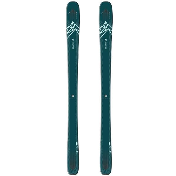 Salomon SKIS N QST LUX 92 Blue Green/Light Ski