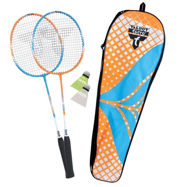 Talbot-Torro Badm.-Set 2-ATTACKER im Thermobag Badmintonschläger