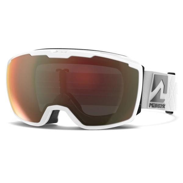 Marker PERSPECTIVE WHITE w/SURROUND MIRROR Skibrille
