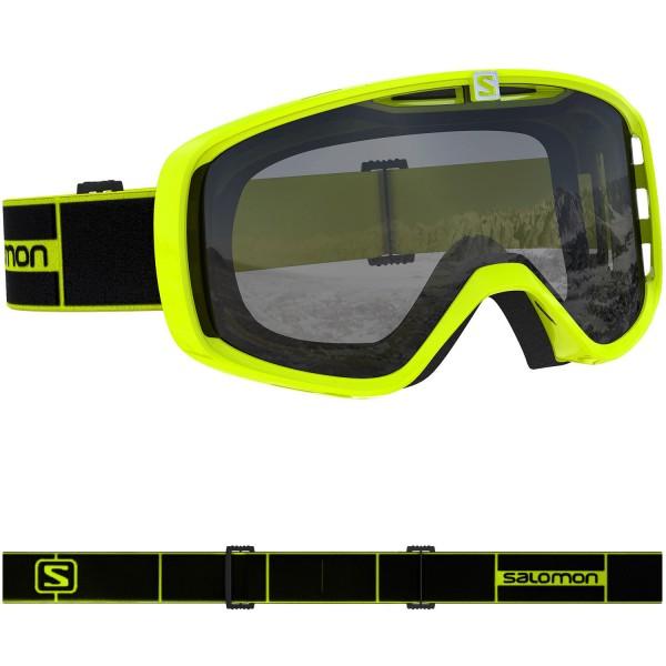 Salomon AKSIUM ACCESS Neon/Uni Silver NS Skibrille