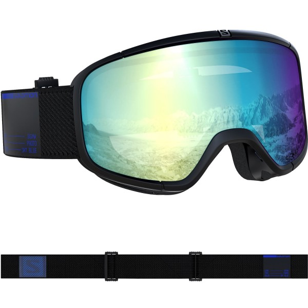 Salomon GOGGLES FOUR SEVEN PHOTO Blk/AW Blu Skibrille