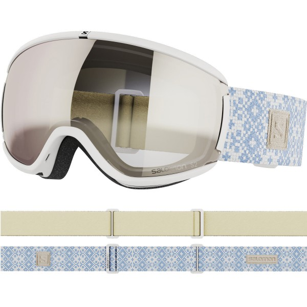 Salomon iVY White/Univ. SuperWhite NS Skibrille