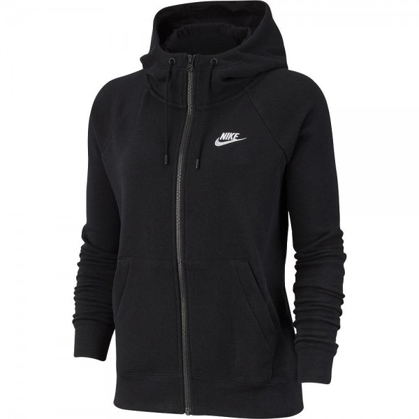 Nike NOS W NSW ESSNTL HOODIE FZ FLC,BLAC - Bild 1