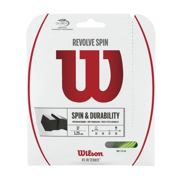 Wilson REVOLVE SPIN 16 SET GR Tennissaite