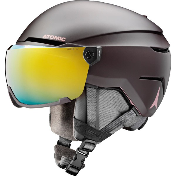 Atomic SAVOR VISOR STEREO Nightshade Helm